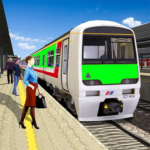 Modern Train Driving Simulator City Train Games 2.4 MOD Unlimited Money
