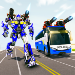 Bus Robot Car Transform War Police Robot games 2.8 MOD Premium Cracked