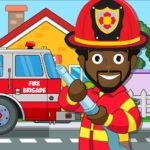 Pretend my Fire Station Town Firefighter Life 1.2 MOD Unlimited Money