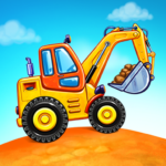 Truck games for kids – build a house car wash 4.0.6 MOD Unlimited Money