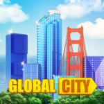 Global City Build your own world. Building Game 0.1.4389 MOD Unlimited Money