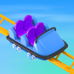 Idle Roller Coaster 2.4.1 MOD Unlimited Money