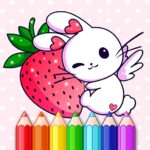 Animated Kids Coloring Book 3.3 MOD Unlimited Money