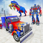 Police Truck Robot Game Transforming Robot Games 1.0.4 MOD Unlimited Money