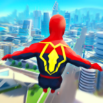 Super Heroes Fly Sky Dance – Running Game 0.6 MOD Unlimited Money