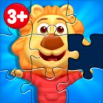 Puzzle Kids – Animals Shapes and Jigsaw Puzzles 1.3.7 MOD Unlimited Money