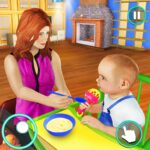 New Baby Single Mom Family Adventure 1.1.1 MOD Unlimited Money