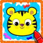 Animal Sounds for babies Coloring book for kids 1.20 MOD Unlimited Money