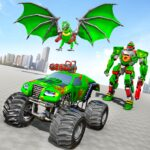 Monster Truck Robot Wars New Dragon Robot Game 1.0.9 MOD Unlimited Money