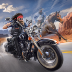 Outlaw Riders War of Bikers 0.2.1 MOD Unlimited Money