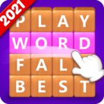 Word Fall – Brain training search word puzzle game 3.2.4 MOD Unlimited Money