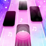 Magic Pink Tiles Piano Game 1.0.0 MOD Unlimited Money