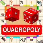 Quadropoly Best AI Board Business Trading Game 1.78.83 MOD Unlimited Money