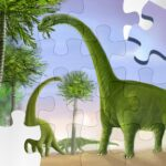 Dinosaur Puzzle Game MOD Unlimited Money
