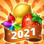 Fruits Farm Sweet Match 3 games MOD Unlimited Money