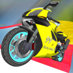 Motorcycle Escape Simulator – Fast Car and Police MOD Unlimited Money