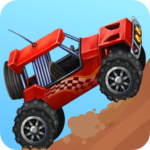 Mad car Racing on hilltop MOD Unlimited Money