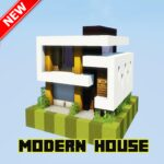 Modern Houses For Minecraft PE 2021 1.0 MOD Unlimited Money